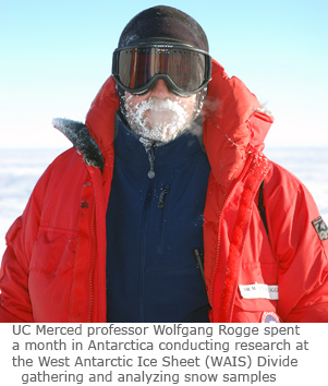 Research Takes UC Merced Team to Antarctica