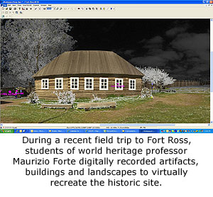 World Heritage Class Digitally Preserves Fort Ross