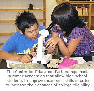 Valley Students Benefit from UC Merced Center