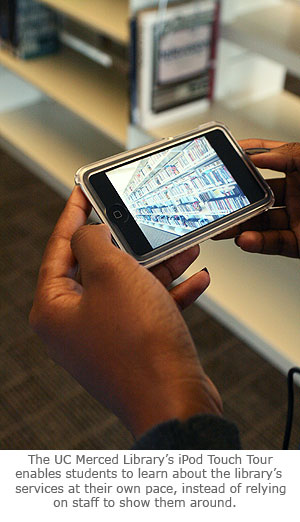 Library Launches iPod Touch Tours