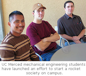 Students Aim High to Launch Rocket Team