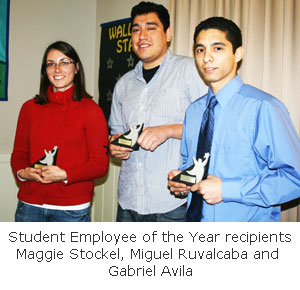 Student Employee of the Year Shines