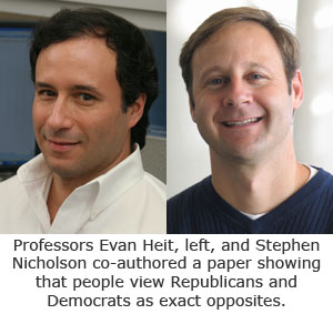 Interdisciplinary Study Finds Political Parties Viewed as Polar Opposites