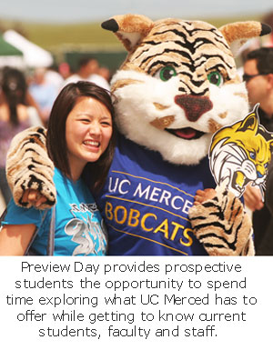 Prospective Students Experience All that UC Merced Offers