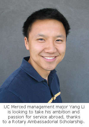 Rotary Scholar: UC Merced Prepared Me to Study Abroad for Master's
