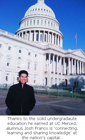 Alumnus Continues Connecting, Learning as Congressional Staffer in DC