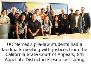 Students Create Outstanding Experiences in Pre-law Society