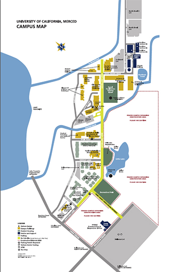 Maps UC Merced