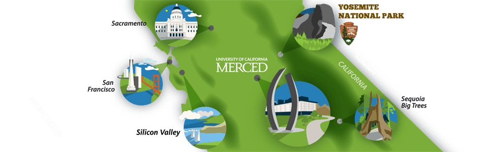 Uc merced uc merced map of california fandeluxe Image collections