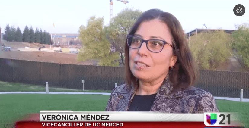 Proyecto 2020 de UC Merced - Vice Chancellor Veronica Mendez