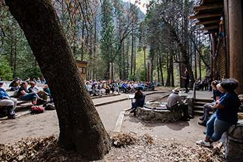Yosemite National Park - Lower River Amphitheater