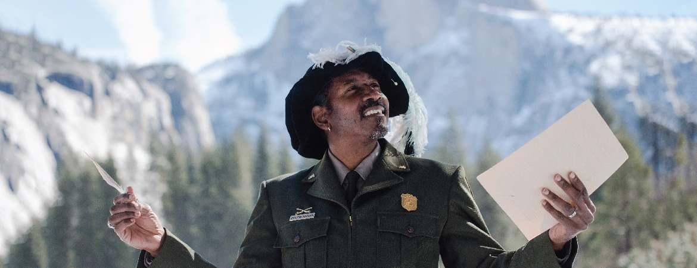 Shakespeare in Yosemite - Ranger Shelton Johnson