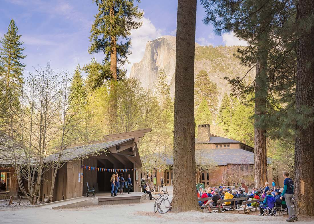 Shakespeare in Yosemite - Half Dome