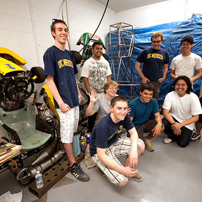UC Merced car racing