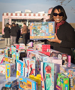 Chancellor's Annual Toy Drive