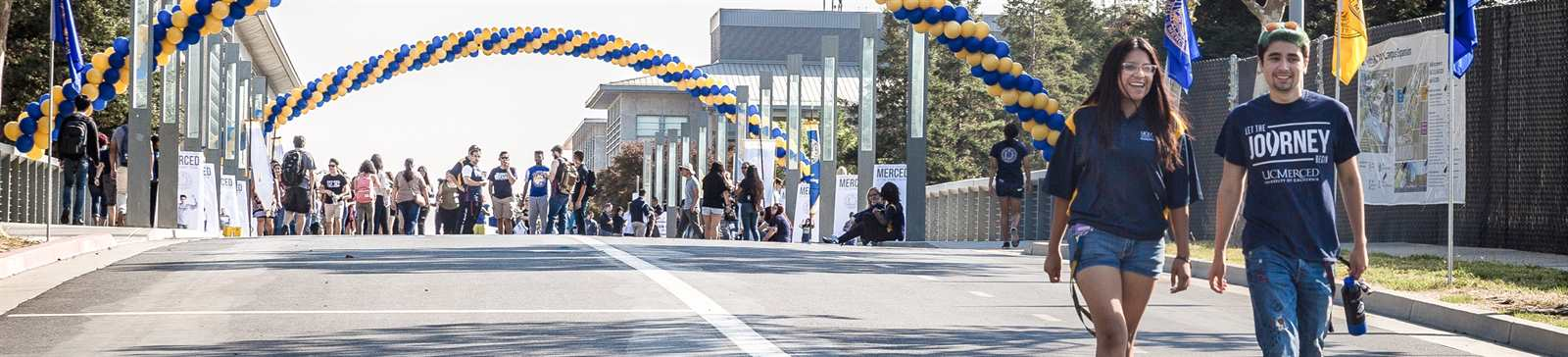 UC Merced Bridge Crossing