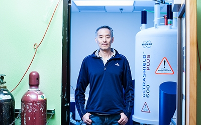 Andy LiWang is working to unlock the mysteries of the biological clock.