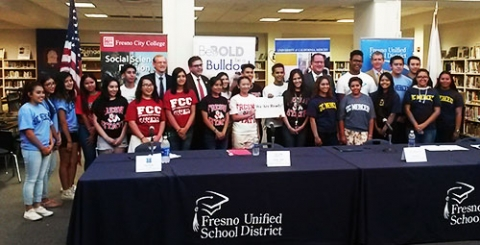 Fresno Unified, UC Merced, Fresno State and State Center Community College District make a commitment to Central Valley students.