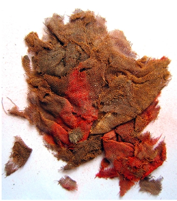 Ancient cloth remains discovered by Professor Mark Aldenderfer shed new light on the path of the Silk Road.