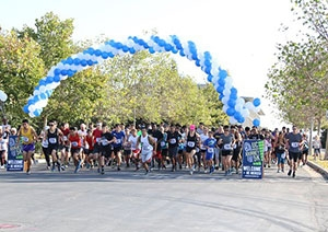 Campus and community members participated in the Journey 5K Fund Run to support scholarships