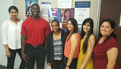 SJV-PRIME students (from left) Neetu Malhi, Kenneth Job, Karenee Demery, Monique Atwal, Mandeep Sidhu and Stephanie Melchor.