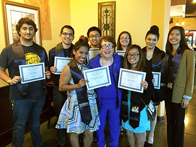 This year's Margo F. Souza Leadership certification program graduates.