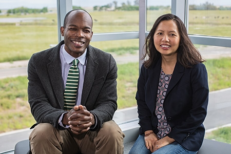 Professors Nigel Hatton and Ma Vang are part of a new initiative to study refugees.