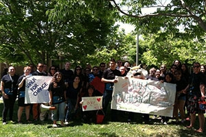 Walk for Change during Sexual Assault Awareness Month a UC Merced
