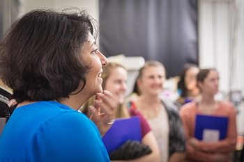 Professor Sayantani Ghosh is one of the founders of WSTEM at UC Merced.