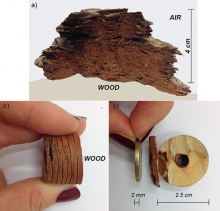 Wood cores are being used to measure the amount of mercury in the air around a mine in Italy.