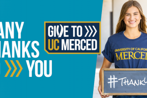 Give to UC Merced 2020 draws 487 donors and raises $163,000 to support students and campus initiatives.