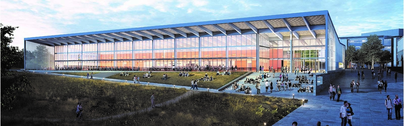 Proposed central dining center.
