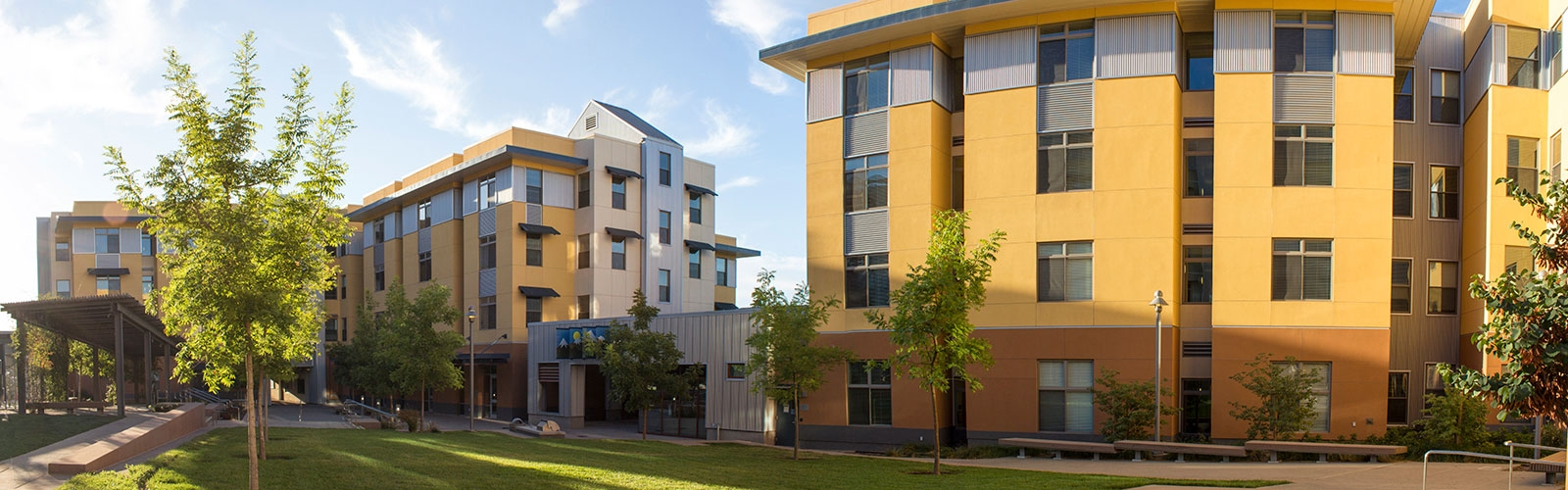 UC Merced residence halls offer an array of living options with services that help students adjust to college life and make the most of their experience.