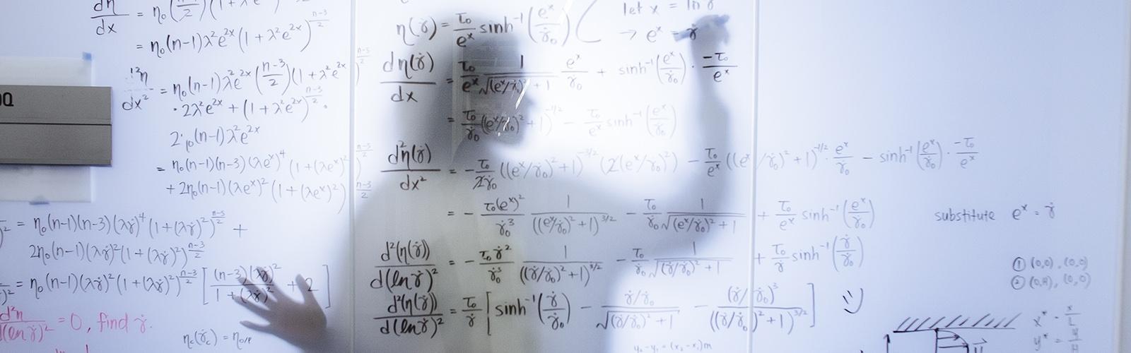 Whiteboard equation